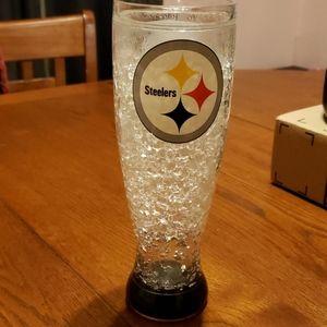 Pittsburgh Steelers plastic pilsner